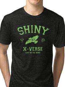 Shiny XV Team (green variant) Tri-blend T-Shirt