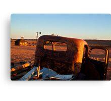 Old Andado Station Simpson Desert Canvas Print