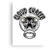Vaping Skulls: Cloud Chaser Canvas Print