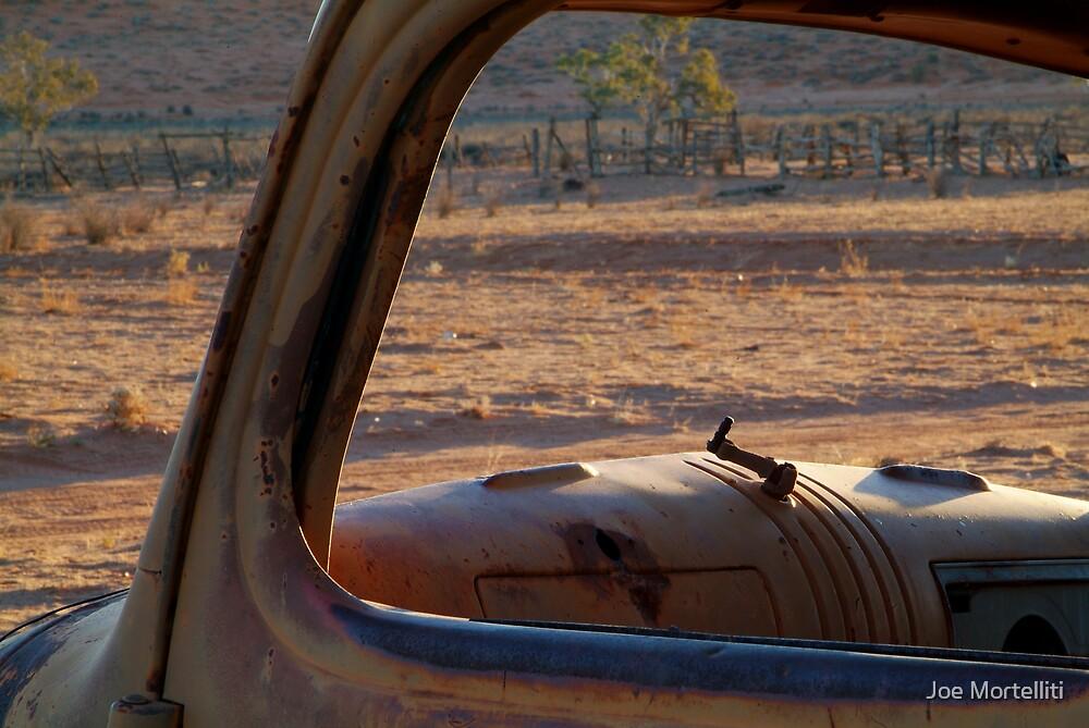 Station Wreck,Old Andado, Simpson Desert by Joe Mortelliti