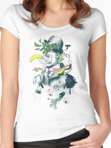 The Surreal Bandit Women's Fitted Scoop T-Shirt