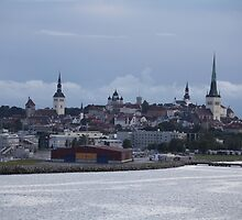 Tallinn view from the sea by mrivserg