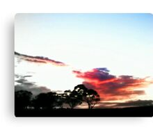 Evening Dreaming Canvas Print