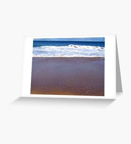 Boomer Beach Greeting Card
