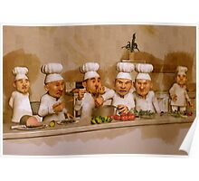 Too Many Cooks Spoil The Broth Poster