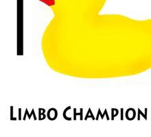 limbo duck Sticker