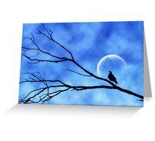 Moonbird Greeting Card