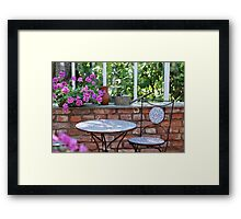 interior Greenhouses Framed Print