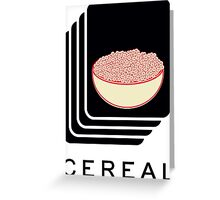 Cereal Greeting Card