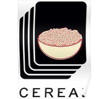 Cereal Poster