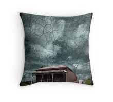 THE DROUGHT IS LIFTING Throw Pillow