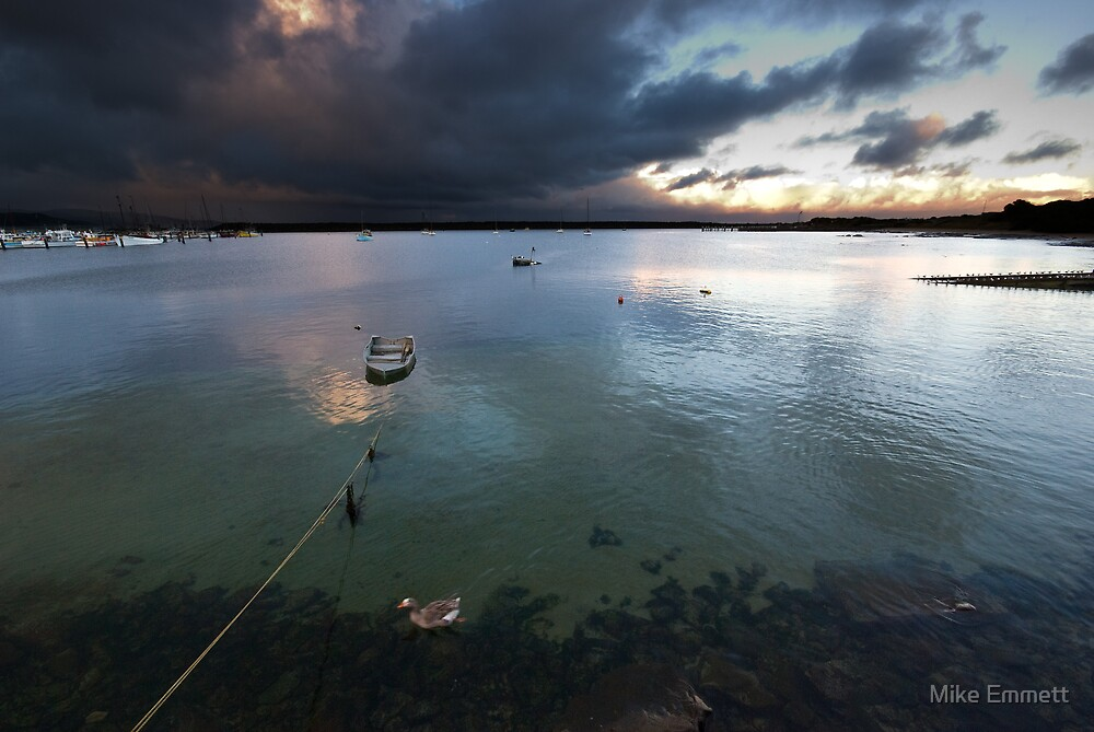 Apollo Bay, Stormy sunset by Mike Emmett