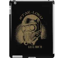 Star-Lord G.O.T.G Tour '78! iPad Case/Skin