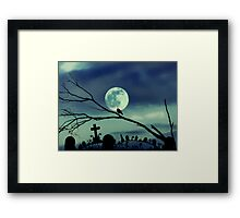 sweet darkness Framed Print