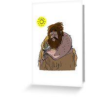 Sundial Greeting Card