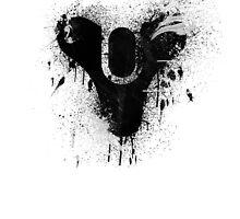Destiny logo (Black Print) by Joe Hickson