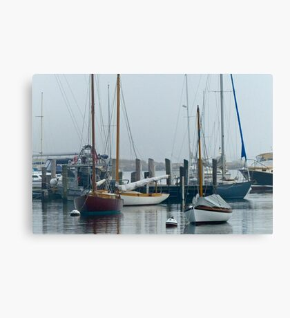 Silent Harbor Canvas Print