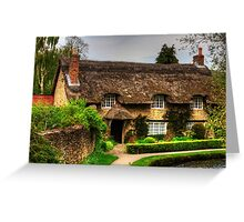 Cottage by the Thornton Beck Greeting Card