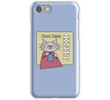 Cool Cats Knit iPhone Case/Skin