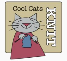 Cool Cats Knit Kids Tee