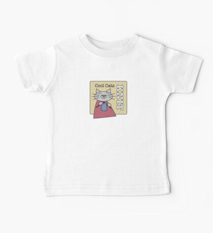 Cool Cats Knit Baby Tee