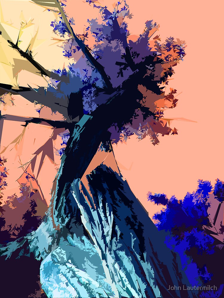 """""""Abstracted Tree"""" by John Lautermilch"""