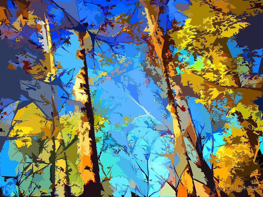 """Digital Fall"" by John Lautermilch"