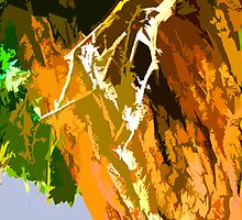"""Painted Cottonwood"" by John Lautermilch"