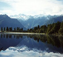 Travel -  Lake Matheson - New Zealand   by lettie1957