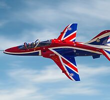 4 FTS solo display Hawk T.1A XX278 by Colin Smedley