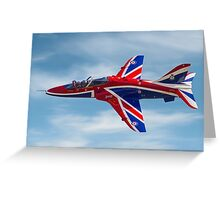 4 FTS solo display Hawk T.1A XX278 Greeting Card