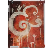 Ampersand in Red : v.01 iPad Case/Skin
