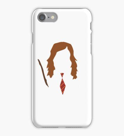 Hermione Granger Minimalist  iPhone Case/Skin