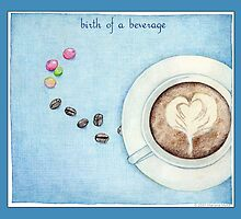 Birth of a Beverage in Blue by Mariana Musa