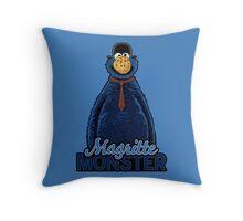 Magritte Monster Throw Pillow