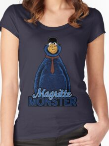 Magritte Monster Women's Fitted Scoop T-Shirt