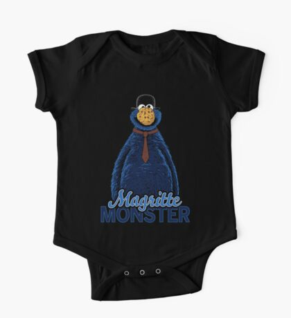 Magritte Monster One Piece - Short Sleeve