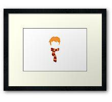 Ron Weasley Minimalist Framed Print
