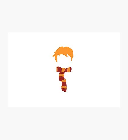 Ron Weasley Minimalist Photographic Print