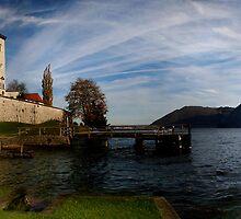 Benedictine Nunnery Austria by Ian Smith