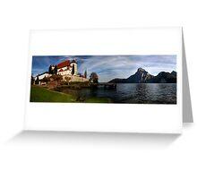 Benedictine Nunnery Austria Greeting Card