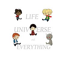 Life, Universe and Everything Photographic Print