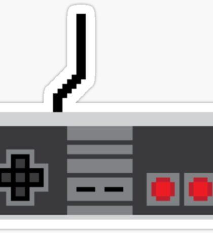 8 Bit Controls Sticker