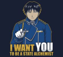 I Want You to be a State Alchemist by Adho1982