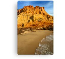 Red Bluff Canvas Print