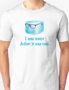 Hipster Ice Cube Was Water Before It Was Cool T-Shirt