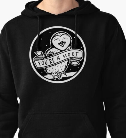 You're a hoot! - Owl Pullover Hoodie