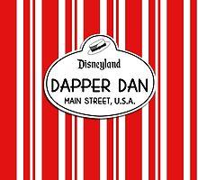 Dapper Dans Nametag - Red by jdotcole
