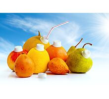 Juicy Fruits Photographic Print