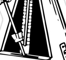 Metrognome Musical Metronome Sticker